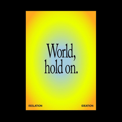 """@isolation_ideation on Instagram: """"Day 23: CC: Bob Sinclair #world #hold #on"""""""