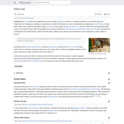 Police riot - Wikipedia
