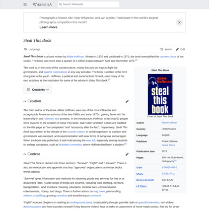 Steal This Book - Wikipedia
