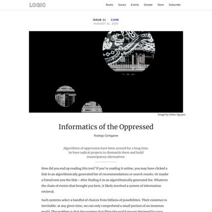 Informatics of the Oppressed