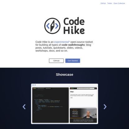 Marvellous code walkthroughs - Code Hike