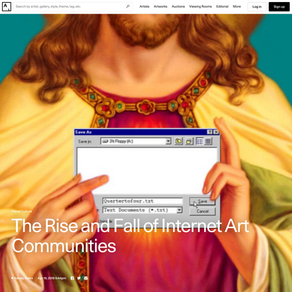 How Social Media Killed Internet Art Communities