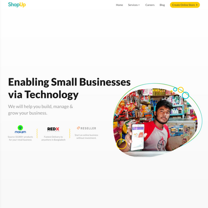 ShopUp - Enabling Small Businesses via Technology.