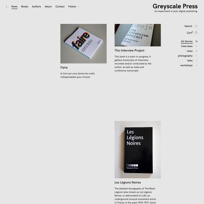 Greyscale Press