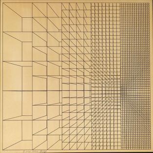 'Disegno per la struttura 773' (1963) by Enzo Mari