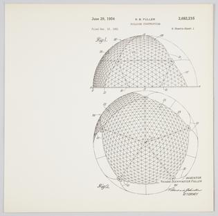 Buckminster Fuller Drawing