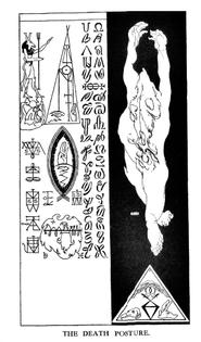 The Death Posture Austin Osman Spare 1913