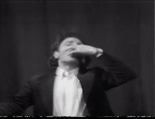 Henri Chopin, Sound & Syntax International Festival of Sound Poetry, 1978 *performing* *speaking* *sounding*