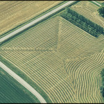 Aerial Photograph of Farmland Within a 15-Mile Radius of New Ulm, Minnesota, a County Seat Trading Center of 13,000 in a Far...