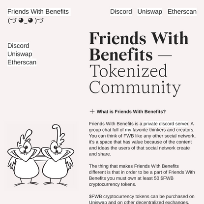 Friends With Benefits - $FWB