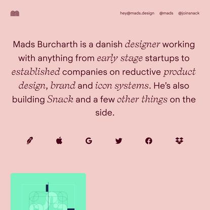 Mads Burcharth