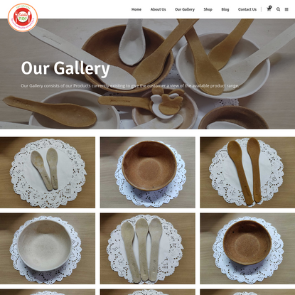 Our Gallery - Edible Cutlery