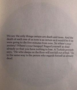 Death by Alan Watts
