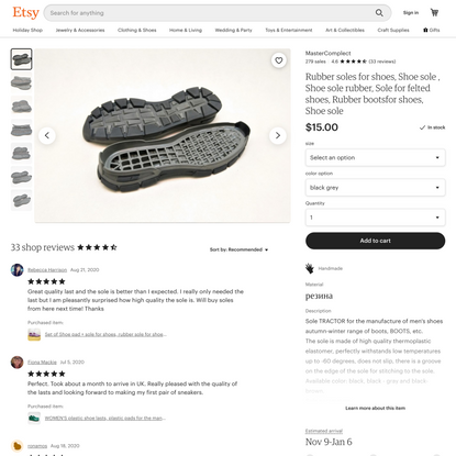 Rubber soles for shoes Shoe sole Shoe sole rubber Sole for   Etsy