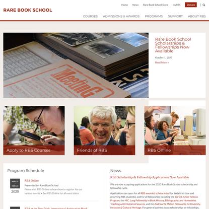 Rare Book School