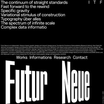 FUTUR NEUE