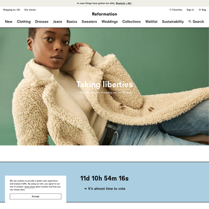 Sustainable Women's Clothing and Accessories | Reformation