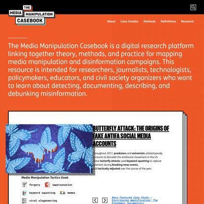 Media Manipulation Casebook