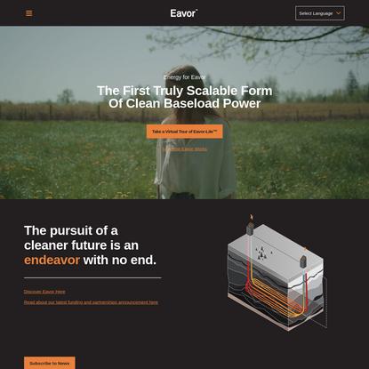 Home | Eavor Technologies Inc.