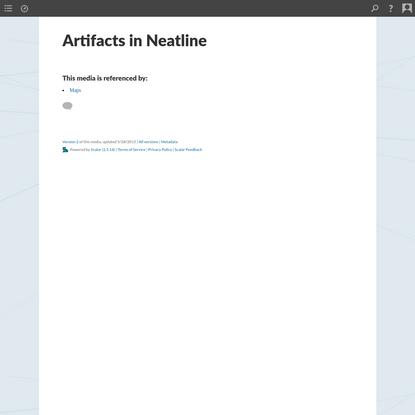 Scalar 2 User's Guide: Artifacts in Neatline