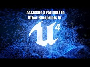 How To Get A Variable From Another Blueprint In UE4