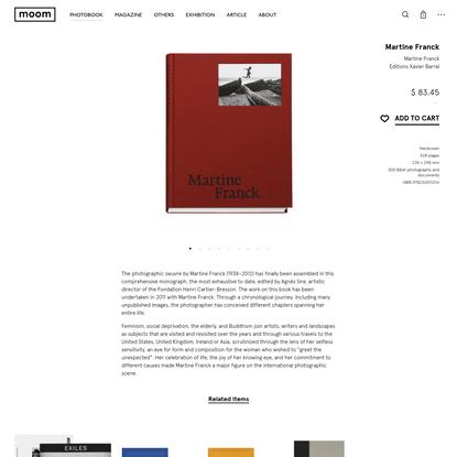 Martine Franck - Martine Franck | moom bookshop - photobooks and magazines