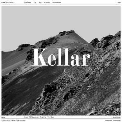 Typefaces - Apex Type Foundry