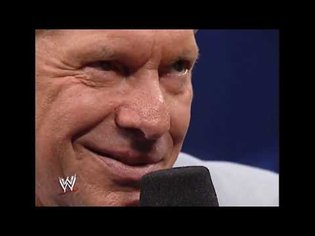 Vince McMahon, Directed by David Lynch