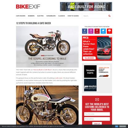 12 Steps to Building a Cafe Racer | Bike EXIF