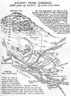 Wainwright's illustrated walking guides