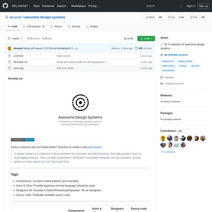 Alex Pate - Design Systems Repository