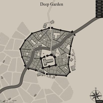 Medieval Fantasy City Generator