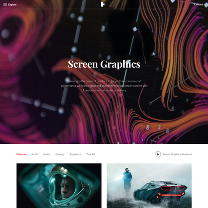 Screen Graphics Projects - Territory Studio