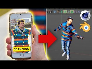 SCAN Real Objects to 3D MODELS using your PHONE (display.land)