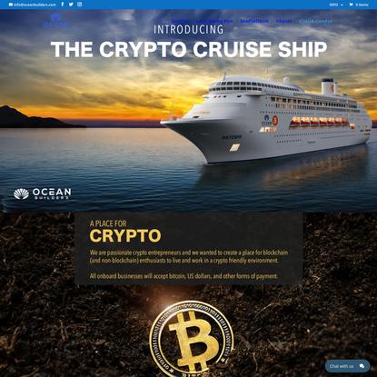 Crypto Cruise Ship | Ocean Builders