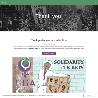 Donate - FiLiA