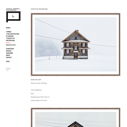 A photographic discovery of forgotten Swiss architecture - Patrick Lambertz Photography