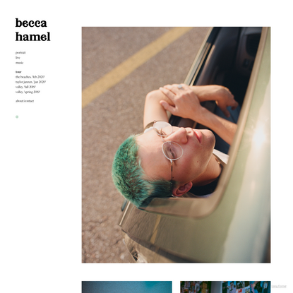 home - becca hamel
