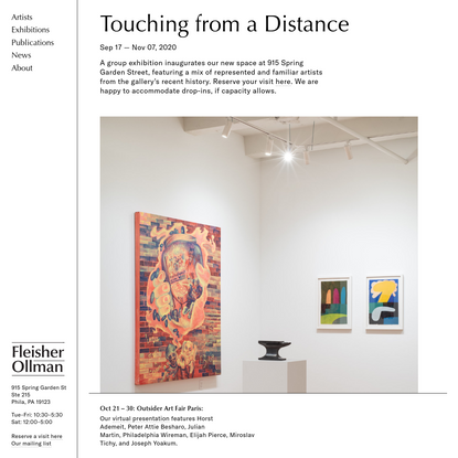 Fleisher/Ollman Gallery