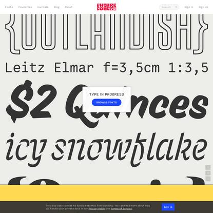 Future Fonts