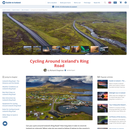 Cycling Around Iceland's Ring Road | Guide to Iceland
