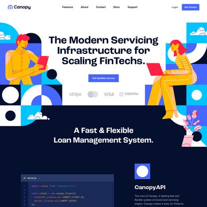 Canopy Servicing | Loan Management & Servicing Technology Built for Fintechs