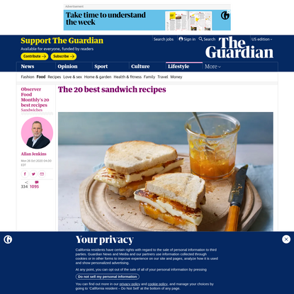 The 20 best sandwich recipes
