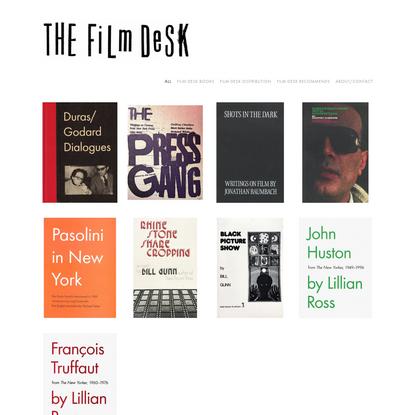 Film Desk Books