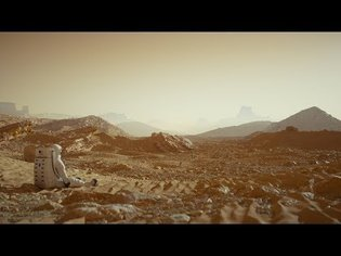 Cinema 4D Tutorial - Create a Detailed Mars Landscape Using Octane Displacement