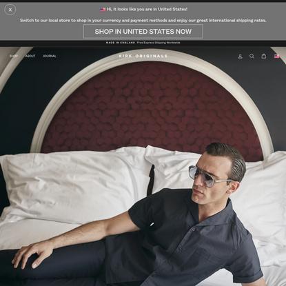 Premium Sunglasses for Men | Kirk Originals | Made in England