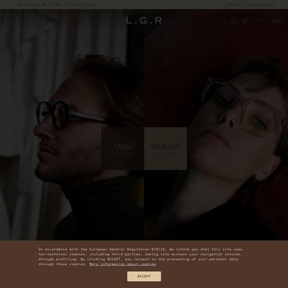 L.G.R - Sunglasses & Optical frames, Handmade in Italy