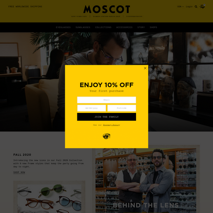 MOSCOT NYC SINCE 1915