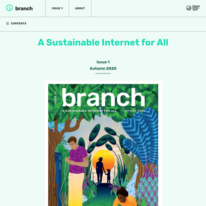 A Sustainable Internet for All - Branch