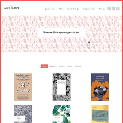 Ediciones Antilope